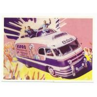 Carte Postale 10x15 Véhicule publicitaire Aspro - Centenaire Editions