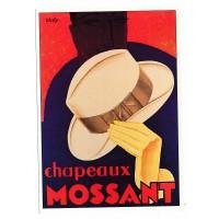 Carte Postale 10x15 Chapeaux Mossant - claude aubert éditeur