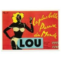 Carte Postale 10x15 Lou la plus belle parure du monde - Editions F.Nugeron