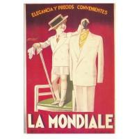 Carte Postale 10x15 La Mondiale Vetement Elegant - Editions F.Nugeron