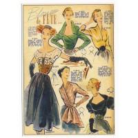 Carte Postale 10x15 Blouson de fete - Floriscope