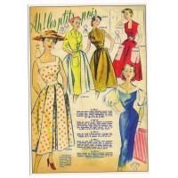 Carte Postale 10x15 Robe à petits pois - Floriscope