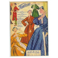 Carte Postale 10x15 Vetement Fantaisie - Floriscope