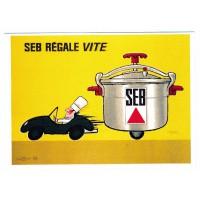 Carte Postale 10x15 - Seb régale vite - Editions Clouet