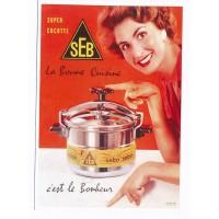 Carte Postale 10x15 - Seb la bonne cuisine 1954 - Editions Clouet