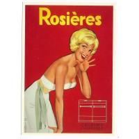 Carte Postale 10x15 - Rosieres 1957 cuisine chauffage - Editions F.Nugeron