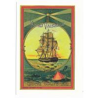 Carte Postale 10x15 - Fil au vaisseau carte coupe fil - Floriscope