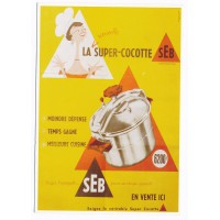 Carte Postale 10x15 - Seb la super cocotte meilleure cuisine - Editions Clouet