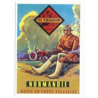 Carte Postale 10x15 - Le chameau botte en crepe vulcanisé - Centenaire Editions