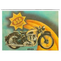 Carte Postale 10x15 BSA 1939 - Centenaire Editions