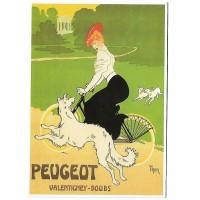 Carte Postale 10x15 Velo Peugeot - Editions Clouet