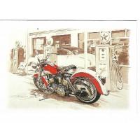 Carte Postale 10x15 Gas Stop II - Editions Orpheograff