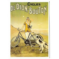 Carte Postale 10x15 Cycles de dion bouton - Cartexpo
