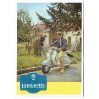 Carte Postale 10x15 Lambretta - Centenaire Editions
