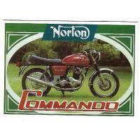 Postale 10x15 Norton Commando 1968 - Centenaire Editions