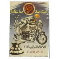 Carte Postale 10x15 AJS 1954 - Centenaire Editions