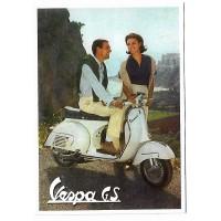 Carte Postale 10x15 Vespa GS - Centenaire Editions