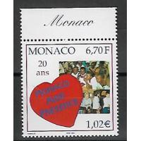 Timbre de Monaco - Numéro 2191 - Neuf sans charnière