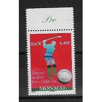 Timbre de Monaco - Numéro 2254 - Neuf sans charnière