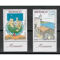 Timbre de Monaco - Numéro 2298 à 2299 - Neuf sans charnière