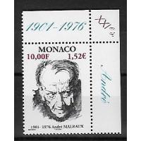Timbre de Monaco - Numéro 2301 - Neuf sans charnière
