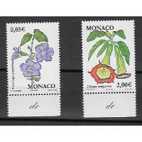 Timbre de Monaco - Numéro 2321 à 2322 - Neuf sans charnière