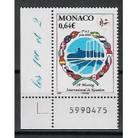 Timbre de Monaco - Numéro 2349 - Neuf sans charnière