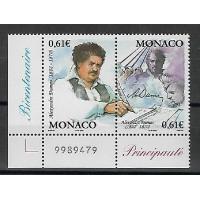 Timbre de Monaco - Numéro 2363 à 2364 - Neuf sans charnière