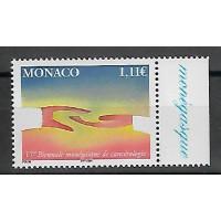 Timbre de Monaco - Numéro 2424 - Neuf sans charnière