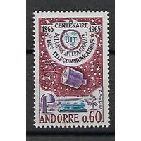 Timbre de Andorre - Numéro 173 - Neuf sans charnière
