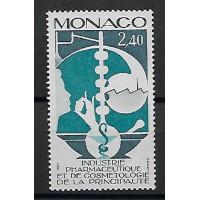 Timbre de Monaco - Numéro 1450 - Neuf sans charnière