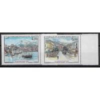 Timbre de Monaco - Numéro 1492 à 1493 - Neuf sans charnière