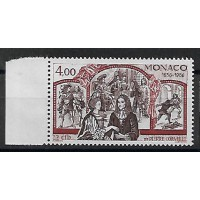 Timbre de Monaco - Numéro 1547 - Neuf sans charnière