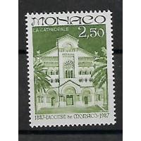 Timbre de Monaco - Numéro 1574 - Neuf sans charnière