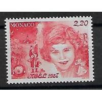Timbre de Monaco - Numéro 1599 - Neuf sans charnière