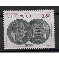Timbre de Monaco - Numéro 1600 - Neuf sans charnière