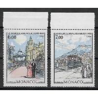 Timbre de Monaco - Numéro 1494 à 1495 - Neuf sans Charnière