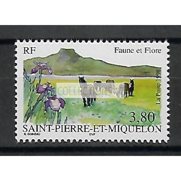 Saint Pierre & Miquelon - Numéro 671- Neuf sans charnière