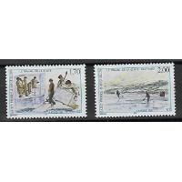 Saint Pierre & Miquelon - Numéro 672 à 673 - Neuf sans charnière