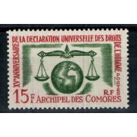 Timbres des Comores - Numéro 28 - Neuf sans charnière