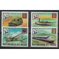 Niger - Numéro 477 à 480 - Neuf sans Charnière
