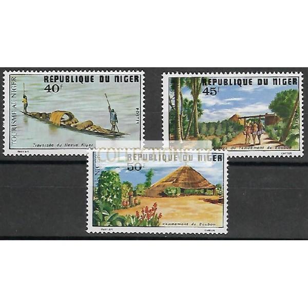 Niger - Numéro 344 à 346 - Neuf sans Charnière