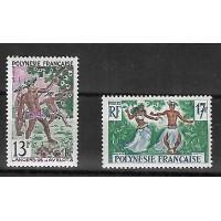Polynésie - Numéro 10 à 11 - Neuf sans Charnière