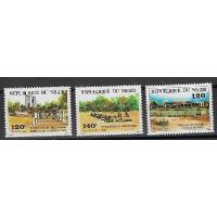 Timbre du Niger - Numéro 637 à 639 - Neuf sans charnière