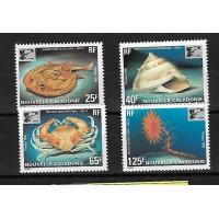 Nouvelle Calédonie - Numéro 710 à 713 - Neuf sans Charnière