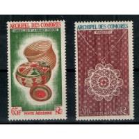 Timbres des Comores - Numéro PA 8 et 9 - Neuf sans charnière