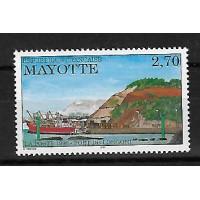 Timbre de Mayotte - Numéro 53 - Neuf sans Charnière