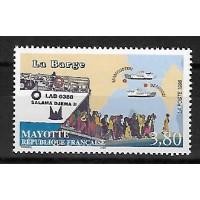 Timbre de Mayotte - Numéro 56 - Neuf sans Charnière