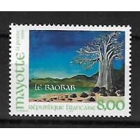 Timbre de Mayotte - Numéro 75 - Neuf sans Charnière