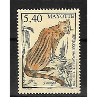 Timbre de Mayotte - Numéro 76 - Neuf sans Charnière